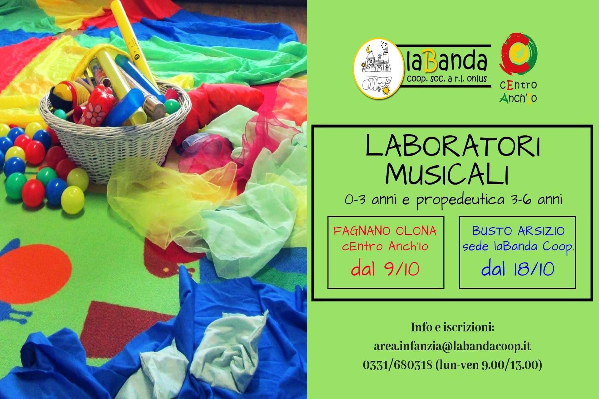 Laboratori musicali: primi incontri